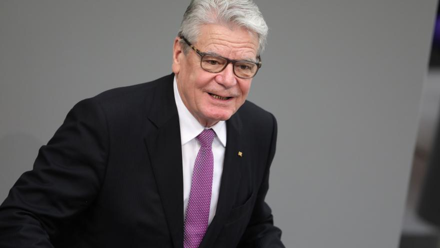 Video Projev Gaucka a Steinmeiera