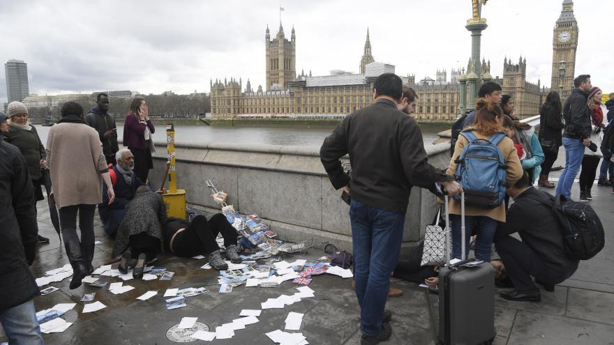 Video ŽIVĚ: Situace po střelbě v Londýně
