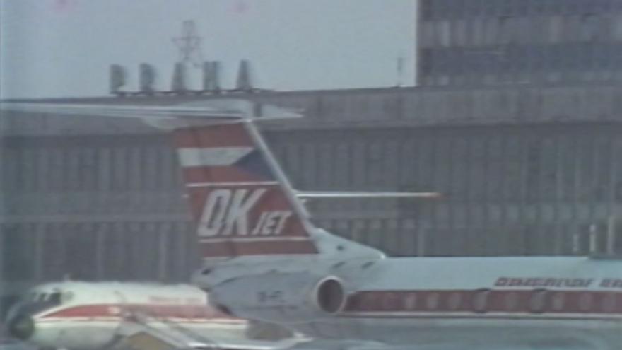 Video 1981: Vánoce na letišti Ruzyně