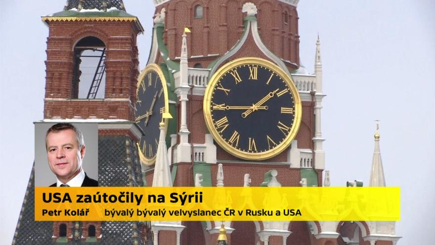 Video Petr Kolář, bývalý velvyslanec ČR v Rusku a USA