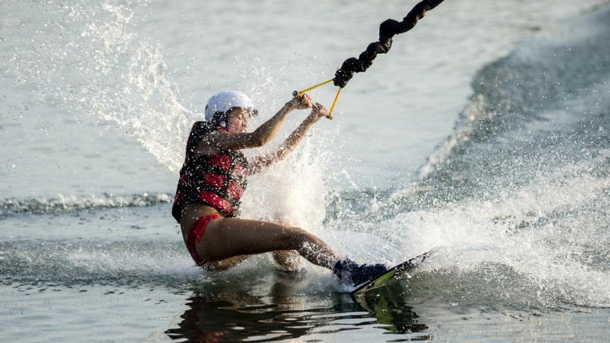 Video Vodní lyžování na Laguně
