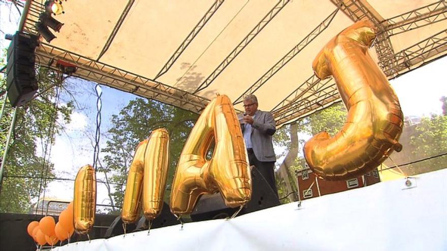 Video Události ČT: Politické strany už pojaly 1. máj předvolebně