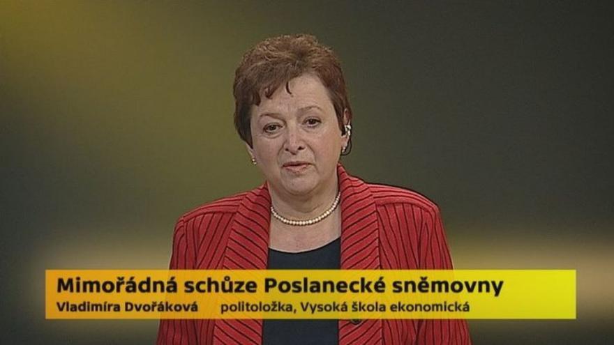 Video Politoložka Vladimíra Dvořáková