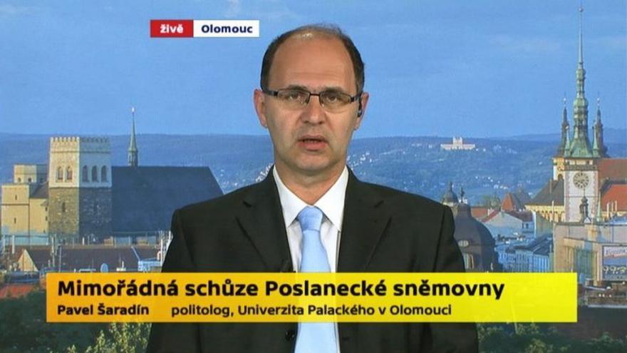 Video Politolog Pavel Šaradín (Univerzita Palackého v Olomouci)