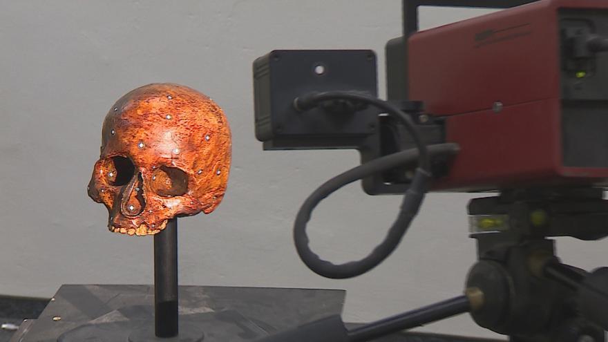 Video Rekonstrukce tváře šamanky trvala přes rok