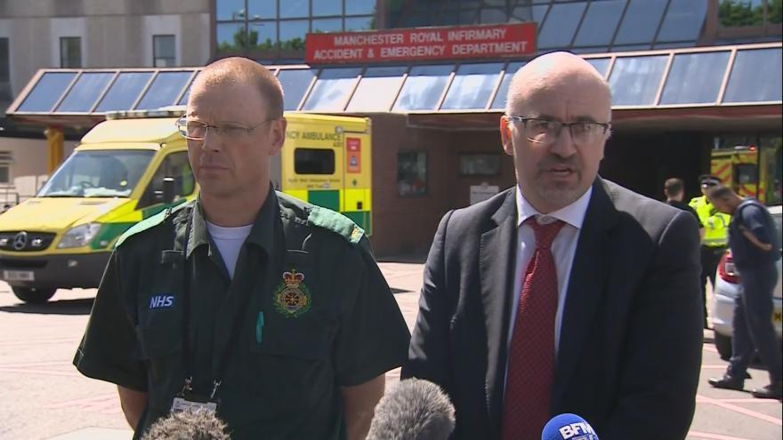 Video Lékaři ke stavu zraněných po útoku v Manchesteru
