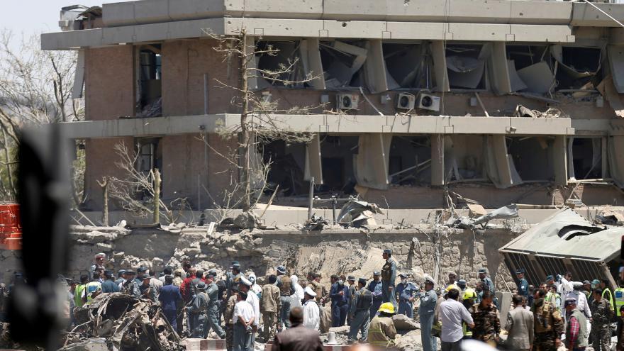 Video Zrno: Výbuch se stal v nejchráněnější části Kábulu