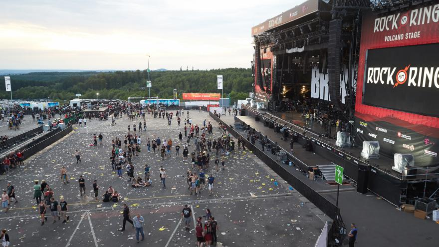 Video Rock am Ring je přerušen