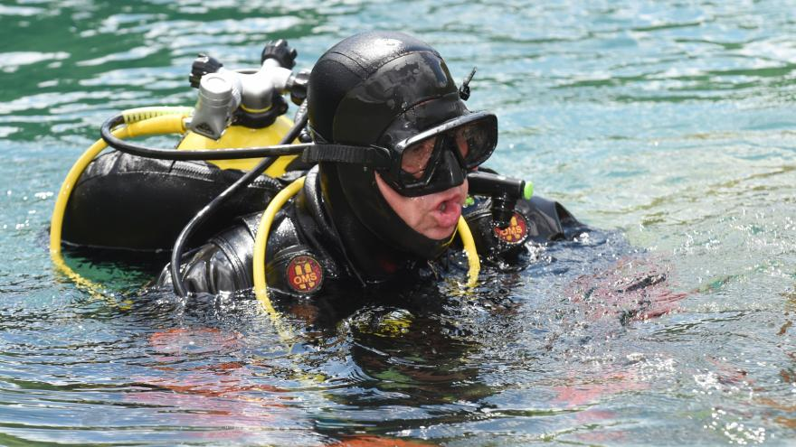 Video Čeští a polští hasiči-potápěči nacvičovali spolupráci
