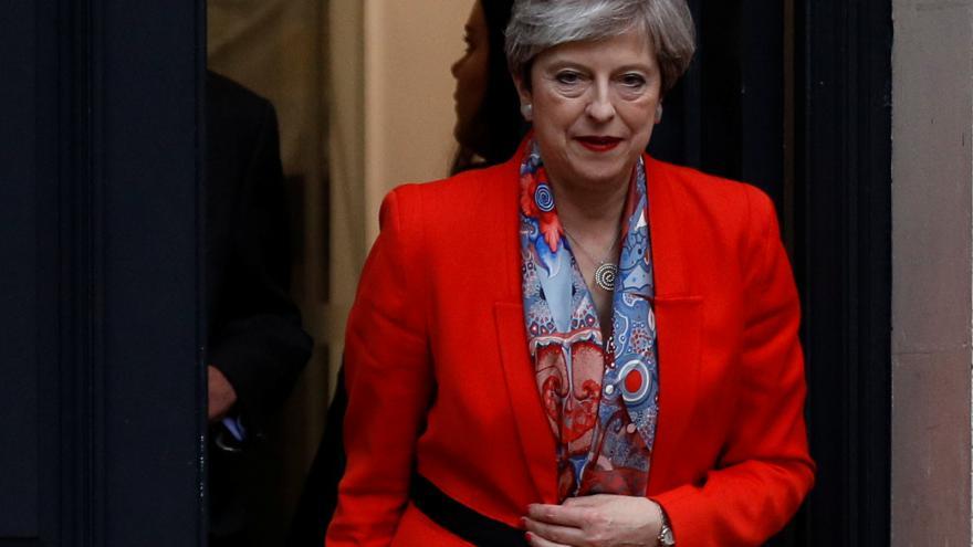 Video Theresa Mayová k výsledku voleb