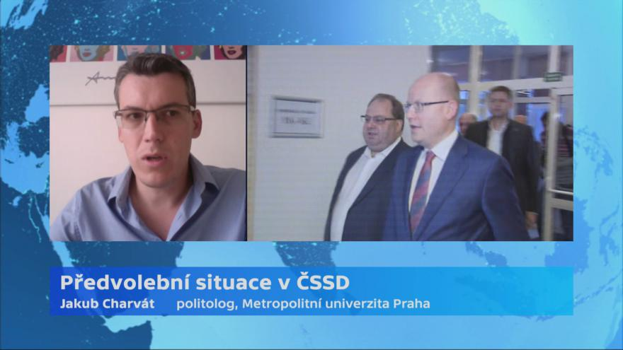 Video Politolog Jakub Charvát: Změna tři měsíce po sjezdu by nepůsobila důvěryhodně
