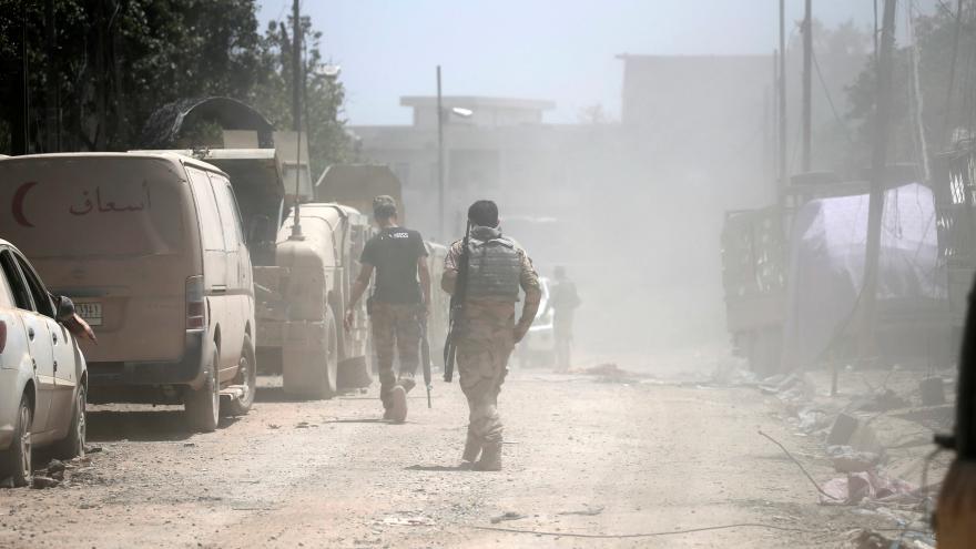 Video Armáda začala dobývat historické centrum Mosulu