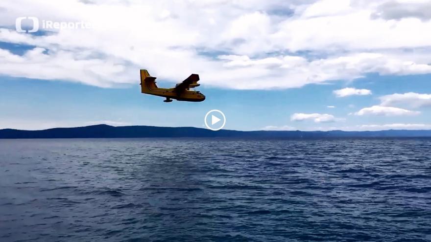 Video požár Chorvatsko