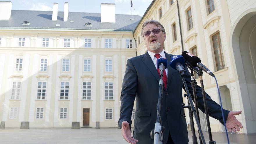 Video Štech: Prezident mi oznámil, že mě ve středu hodlá jmenovat ministrem školství
