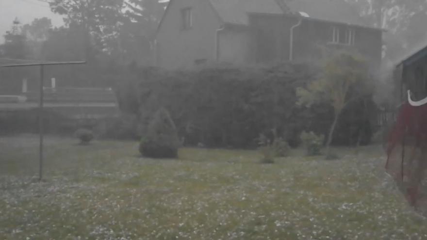 Video iReportér Tonda Holakovský: Přívalové deště