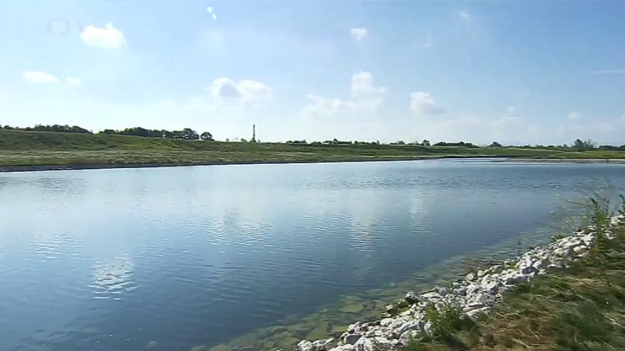 Video Jezero na haldě v Ostravě