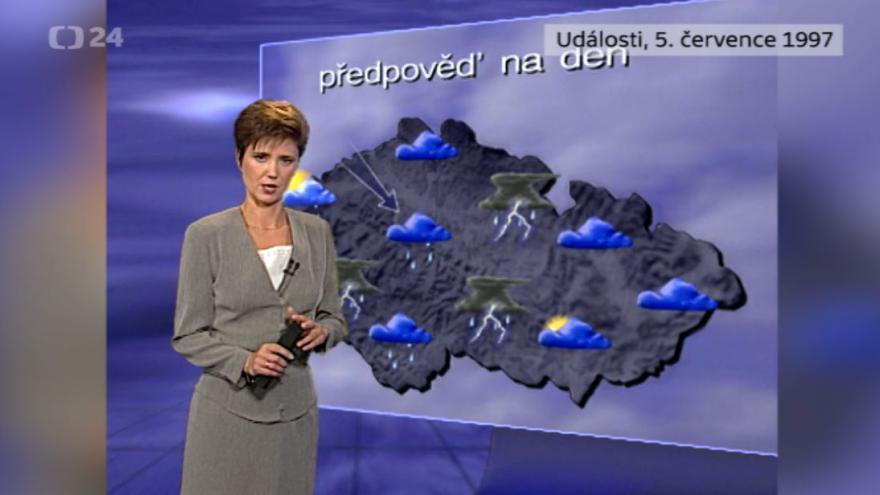 Video Počasí ze 5. července 1997