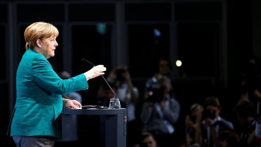 Video Angela Merkelová po summitu G20