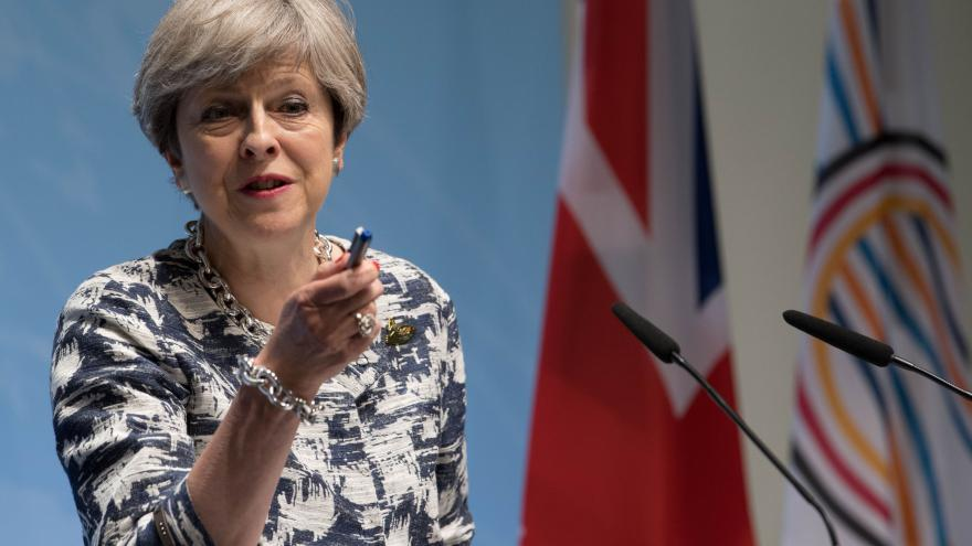 Video Theresa Mayová po summitu G20