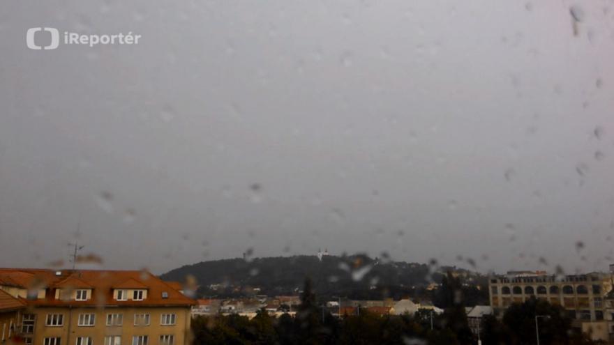 Video Časosběrné video bouřky v Krnově