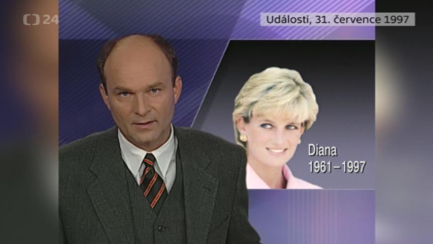 Video Události z 31. července 1997 k úmrtí princezny Diany