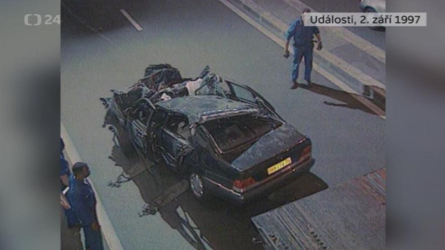 Video Události z 2. září 1997 k úmrtí princezny Diany