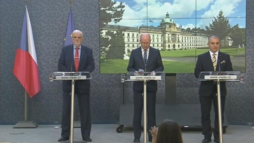 Video Brífink po jednání tripartity