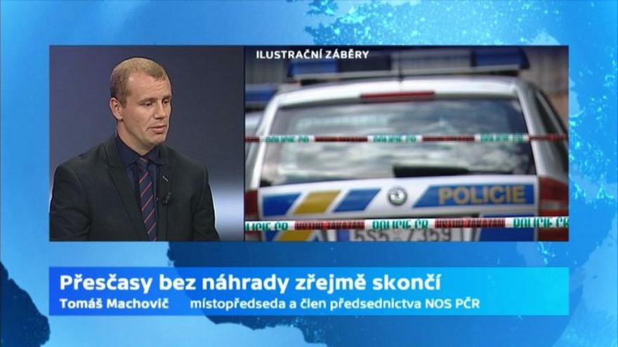 Video Tomáš Machovič, místopředseda a člen předsednictva Nezávislého odborového svazu Policie ČR