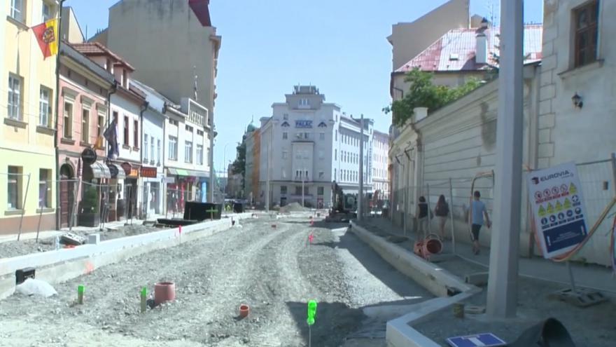 Video Rekonstrukce narušila ráz části města