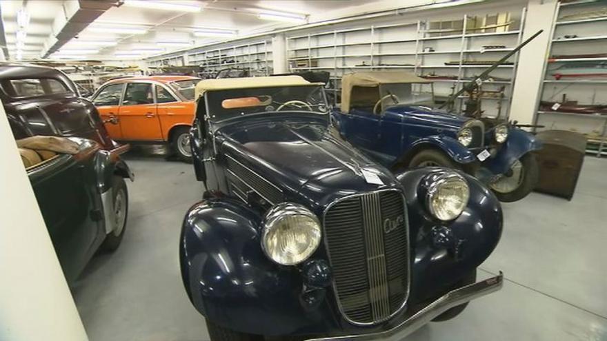 Video Depozitář Národního technického muzea ukrývá historii