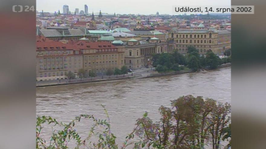 Video Povodně 14. srpna 2002: Události