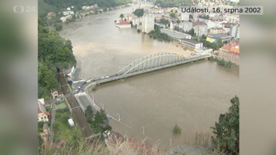 Video Povodně 16. srpna 2002: Události
