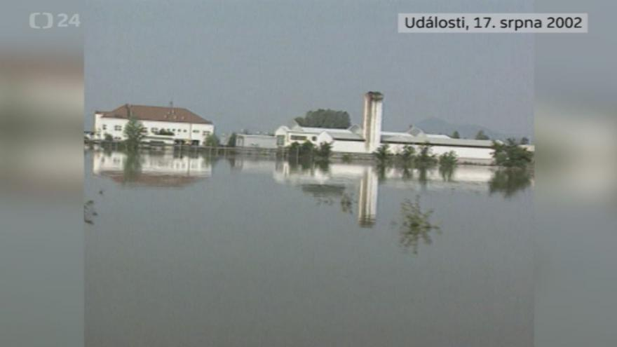 Video Povodně 17. srpna 2002: Události