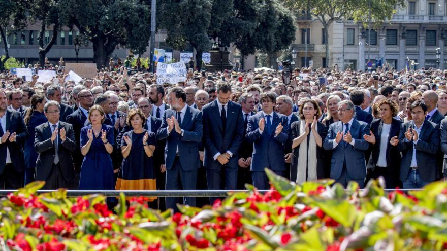 Video Pieta k uctění obětí v Barceloně