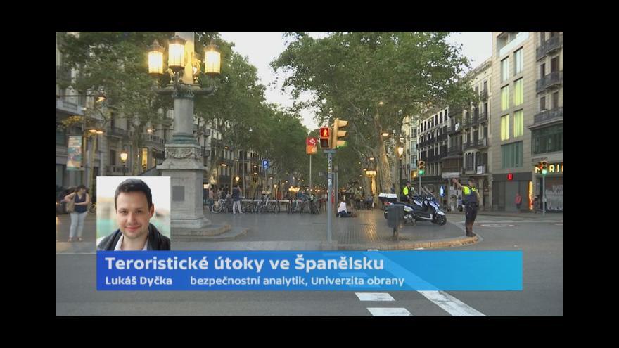 Video Dyčka: Češi nejsou na podobný útok připravení. Byl by to obrovský šok
