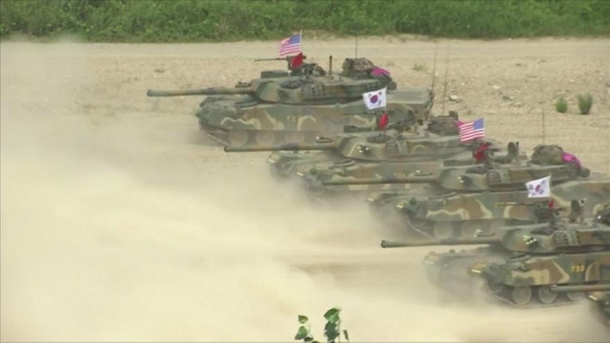 Video Koreanista: Vyhrůžky KLDR před cvičením jsou každý rok stejné