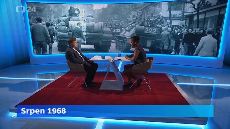 Video Interview ČT24: Historik Jan Rychlík