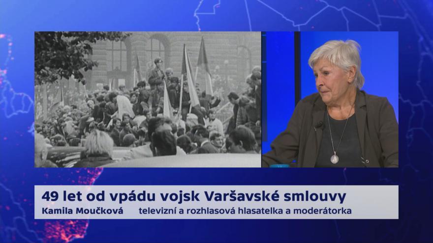 Video 90' ČT24 - 21. srpen 1968 - 49 let poté