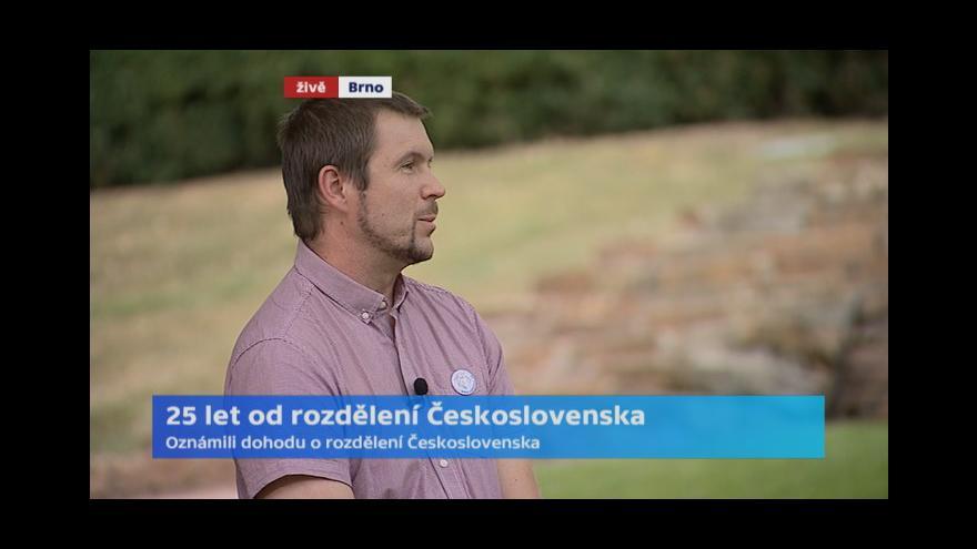 Video 25 let od rozdělení Československa