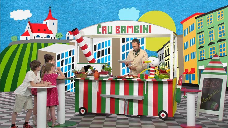 Video Šéfkuchař Emanuel Ridi učí na Déčku italsky