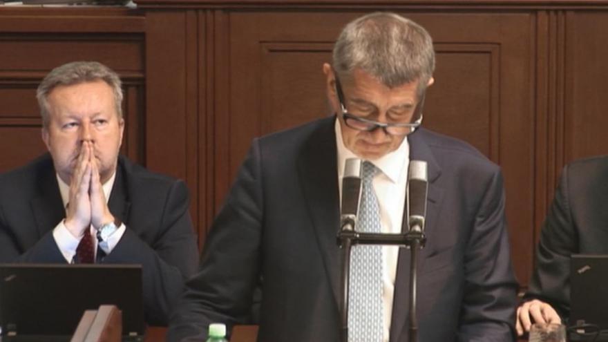 Video Vystoupení Andreje Babiše ve sněmovně