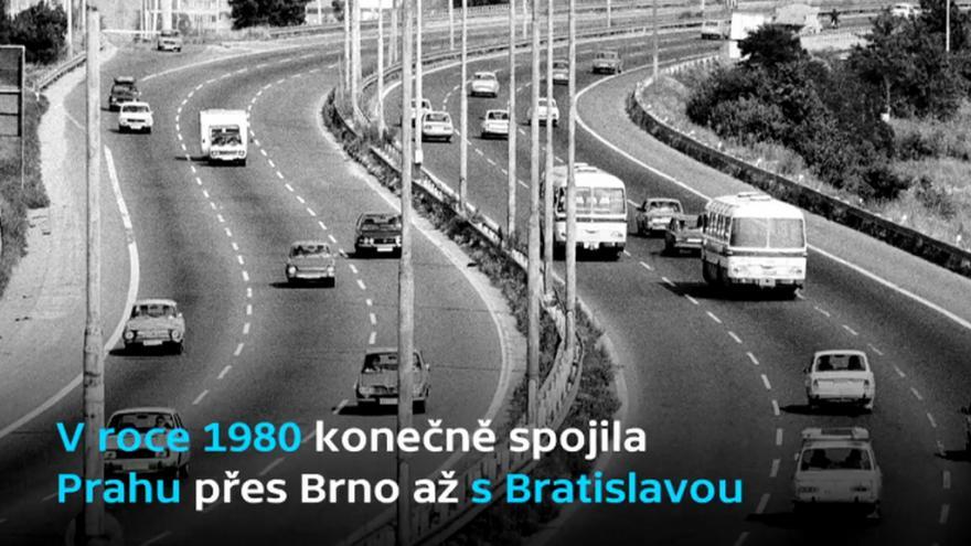 Video Půlstoletí s klíčovým dopravním spojem Česka
