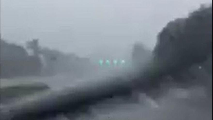 Video Hurikán Irma na Floridě