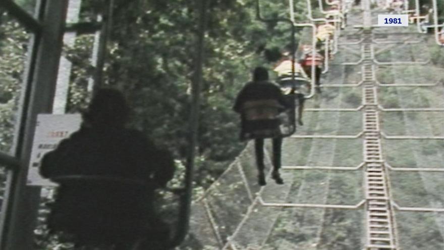 Video Lanovka zahájila pravidelný provoz v roce 1981