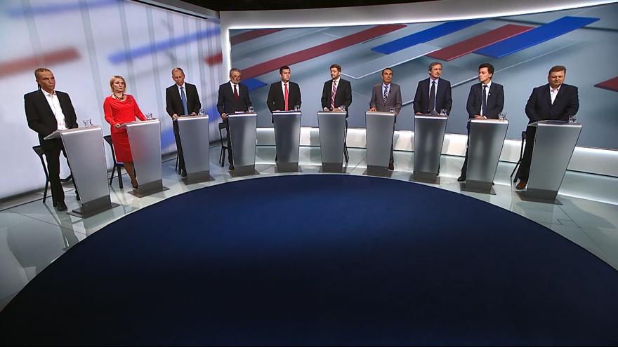 Video Kandidáti o prioritách bezpečnostní politiky