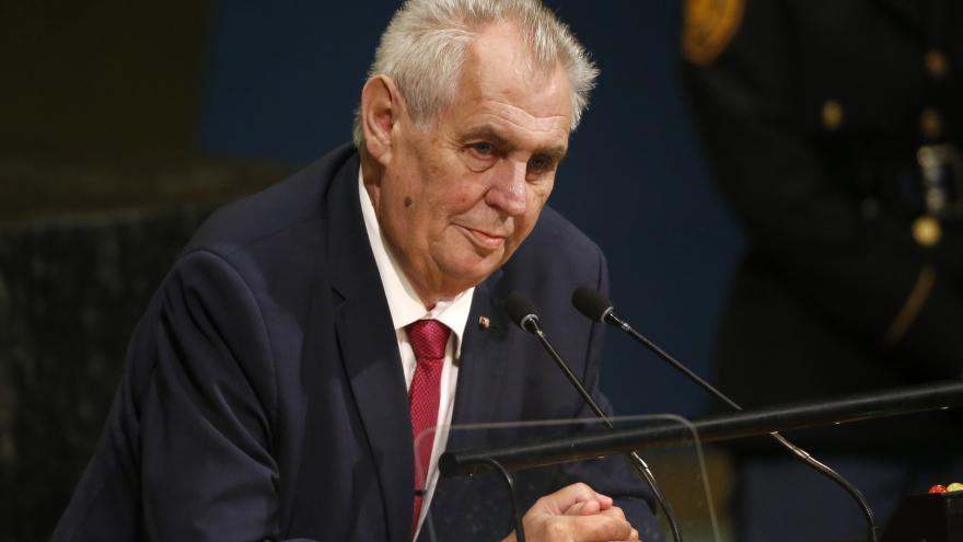 Video Český prezident Zeman na 72. zasedání Valného shromáždění OSN