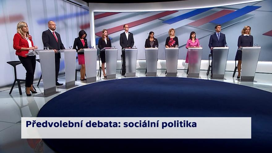Video Kandidáti o prioritách ministerstva práce a sociálních věcí