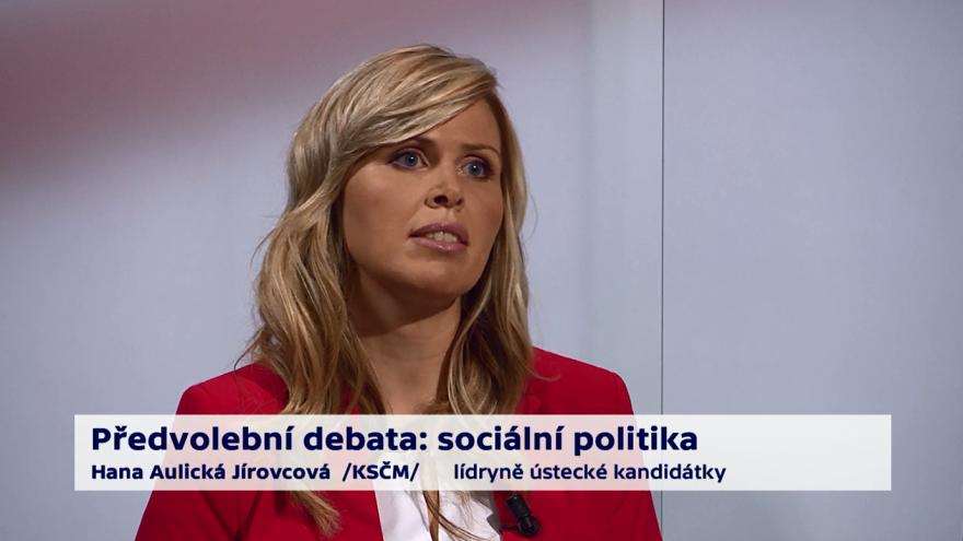 Video Aulická Jírovcová o rodinné politice