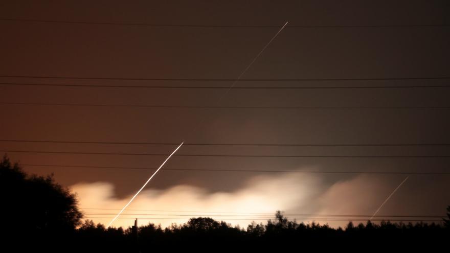Video Exploze muničního skladu na Ukrajině