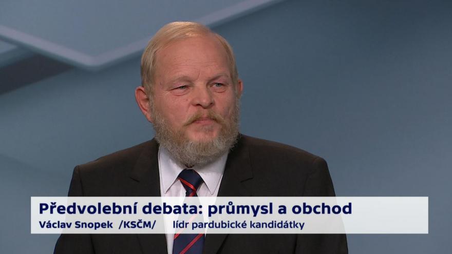 Video Snopek o podpoře českých firem a exportu